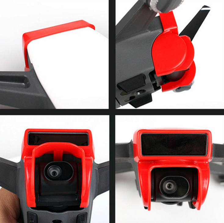 Newest Anti-Glare Protective Gimbal Camera Lens Sunshade Cover For DJI Spark Drone