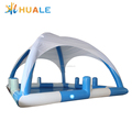 Outdoor inflatable swimming pool with cover ,kids pool with tent inflatable pool for sale