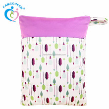 Famicheer Reusable Baby Adult Diaper Nappy Bag Wet Bag For Swimming