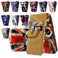 For Sony Xperia Z2 High Quality Print Flip PU Leather Case Cover Moible Phone Case