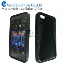 for BlackBerry BB Z10 Black hard TPU protrctor case