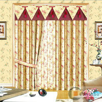 2013 living room postoral style new design curtains