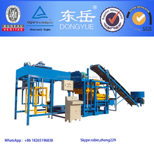 Manufacturing machine for road blocks/house building brick machine equipments producing