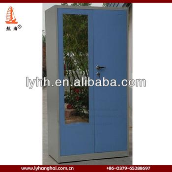 indonesia kamar tidur use biru besi lemari pakaian with