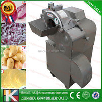 800-1000kg /h industrial cabbage onion potato vegetable cutter, vegetable slicer, vegetable cutting