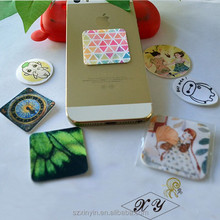 promotion gift stickers/mini sticky screen cleaner for mobile phone