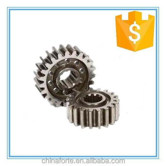 hot selling products cast parts metal custom auto parts decorative gears