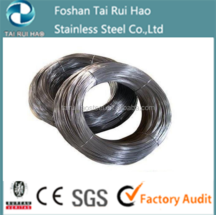 Popular grade 201 304 316 430 polished stainless steel wire