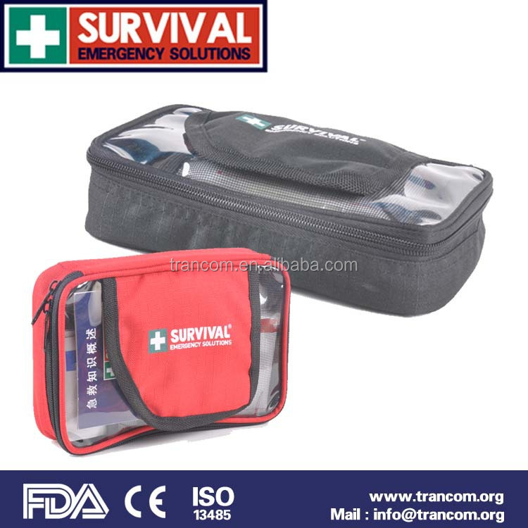 TR102 Professional Manufacture Emergency Car First Aid Kit and Medical Content First Aid Kit with CE FDA ISO TGA