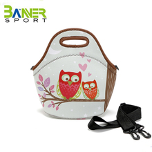 Hot Sale many designes canvas frozn lunch cooler bag office