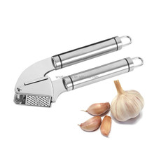 Hot Sell Kitchen Tools Stainless Steel Garlic Press Slicer