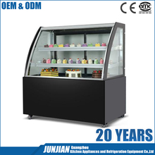 Display cooler type and CE certification cake & chocolate display freezer cake showcase