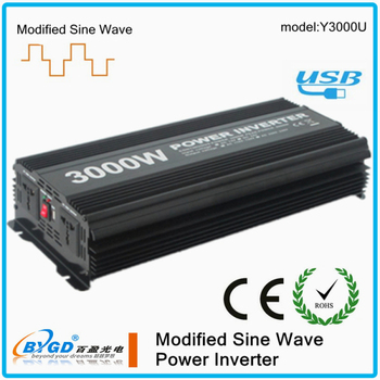 3kva power inverter dc to ac12V/24V 110V/220V 50HZ 60HZ