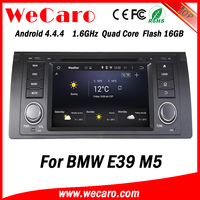 Newest Android 4.4.4 car dvd single din for bmw e39 car dvd android car stereo A9 cpu 1995-2003
