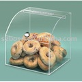 Acrylic Bread Case, Perspex Bakery Box, Plexiglass Cupcake Display