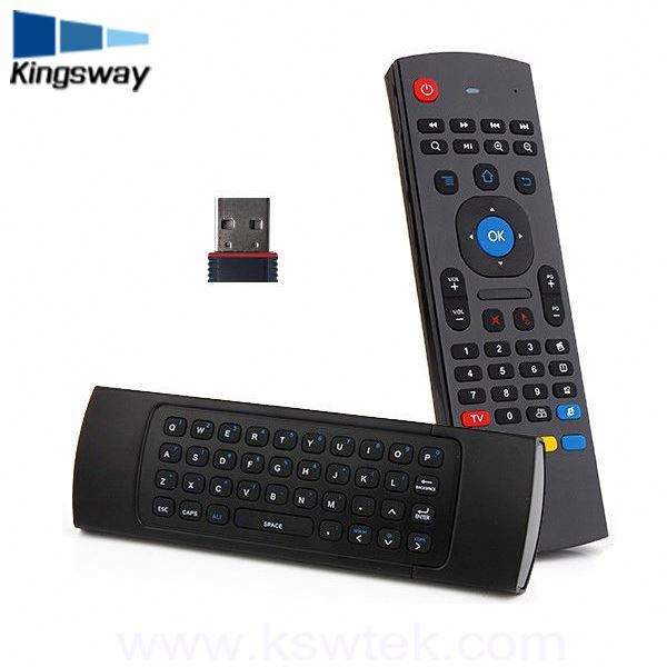 MX3 Supplier 2.4Ghz Air Mouse For Pc Android Tv Box Remote Control Wireless