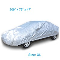 2016 Best Design 100% Nylon Taffeta Folding Garage Full Custom Printed Car Cover