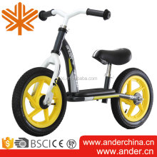 Baby product best selling alu balance bike/ push bike/ ride on car