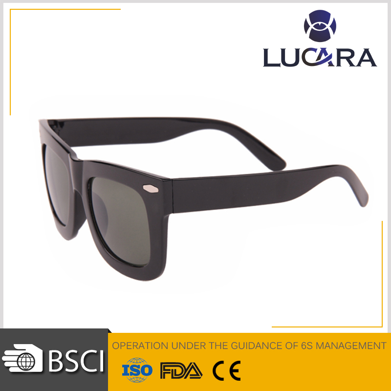 Simple design big frame high quality china wholesale sunglasses