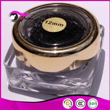 Eyelash extension wholesale individual lashes packed in jar or plastic bag with kinds of types