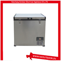 80L portable small size fridge 12v used fridge