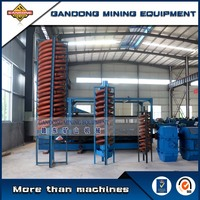 Stable performance energy mineral equipment spiral concentrator