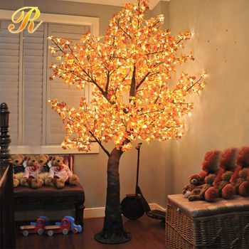 Led maple tree of Autumn leaves decoration