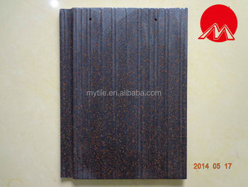 MY8135 mixed color streamline flat roof tile
