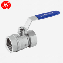 2pc ball valve with locking device