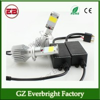Car Led Headlight Kits H7 CREE Auto Led Headlamps 2800LM 28W Led Fog Light Bulbs