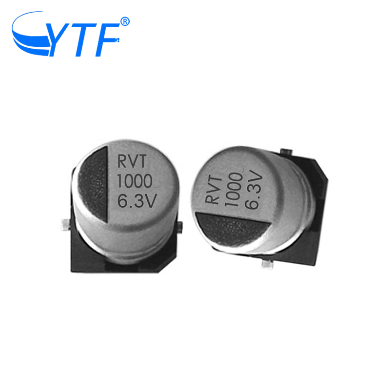 High Quality and Low Price <strong>10</strong>* <strong>10</strong>.2mm 6.3V 1000UF SMD Electrolytic Capacitor