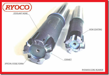RYOCO Carbide brazed Reamer RYOMAX CORE