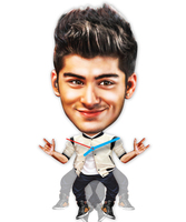 wall clock Zayn one direction