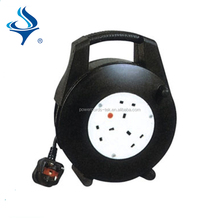 High quality empty plastic small cable reel/industrial sockets retractable cable reel