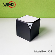 cube shape x3 bluetooth mini wireless speaker with custom logo