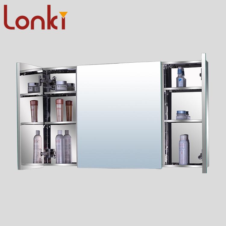 Effect Assurance Opt Stainless Steel Bathroom Mirror Cabinet Doors