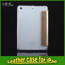 For IPAD Mini TPU cases with pu flip cover