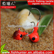 10g/14g wholesale hot weights lead fishing 2014 jig head