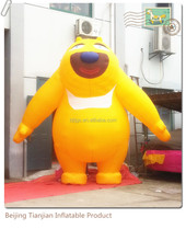 Popular latest cute attraction inflatable big bear