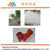 Factory sale! white color poultry shed plastic slat floor anti-aging PP plastic for sale