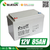Bluesun deep cycle 12v 80ah lead acid battery with ISO CE ROHS Certificate