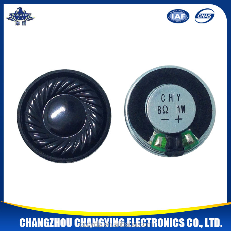 23mm 8ohm 1w thin mylar speaker for mp3