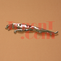 3D Metal Chrome Decal Emblem Badge Sticker For Jaguar