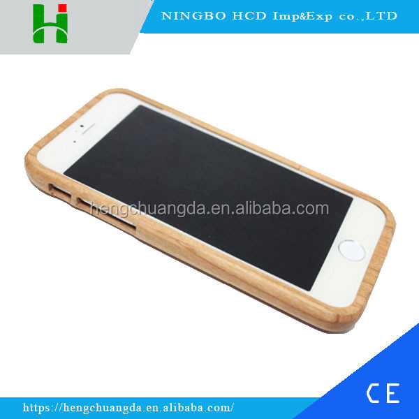 Hot selling Cherry Wood Mobile Phone for iphone