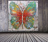 Abstract huge clear and elegant butterfly animal100% pure hand-painted 100% handmade decoration oil painting in canvas