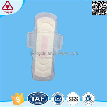 Anion sanitary napkin with negative ion