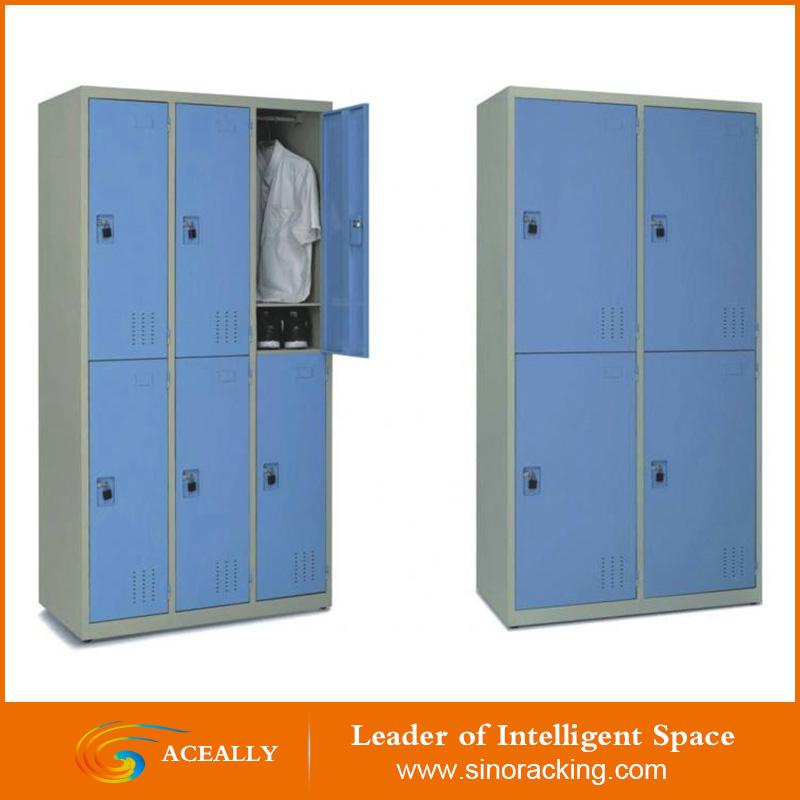 Powder Coated Steel Storage Lockers Buy Steel Lockersteel Wardrobe Locker  Product On Alibabacom   Employee Lockers