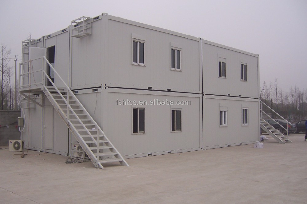 40ft Container Modular Structure 2 Storey Prefab House