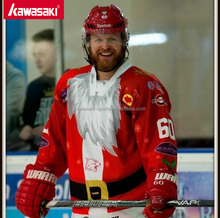 Top Quality Red Christmas santaclaus Elk cute printing hockey jerseys for sales