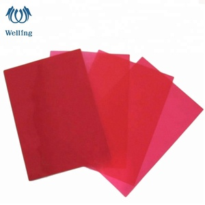 High quality clear plastic PVC sheet rolls PET film for blister